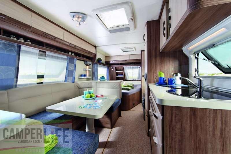 Colpo dOcchio Hobby De Luxe Easy 560 KMFe  Camper Life