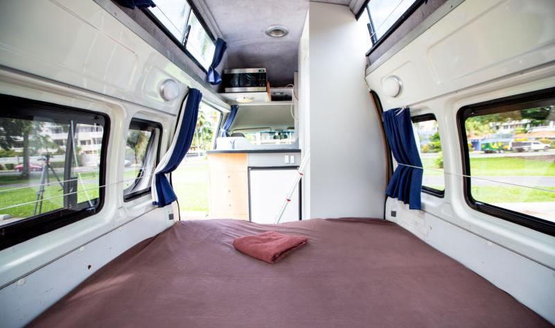 Motorhome Campervan  RV Rental  5 Person with bathroom