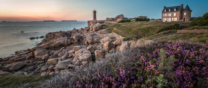 Bilder aus der Bretagne – Côte de Granit Rose (Ploumanac'h)