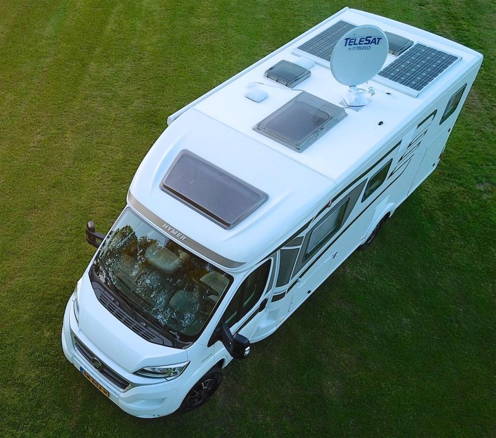 Hymer T 588 SL tramp dak campers noord