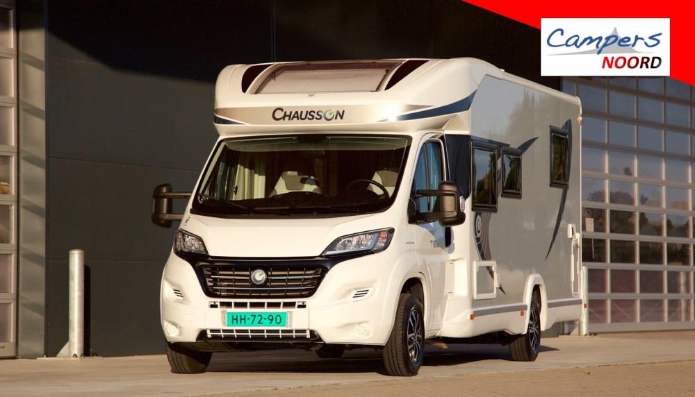 Chausson 718 XLB voorzijde Campers Noord