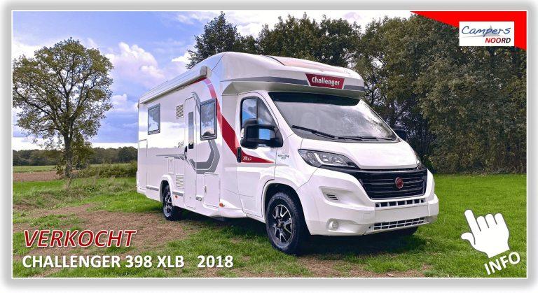 Challenger 398 XLB 2018 Campers Noord