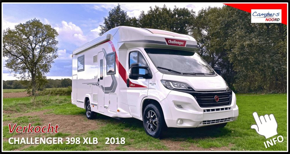 Challenger 398 XLB Campers Noord