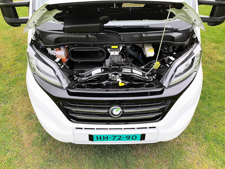 Motorruimte Chausson 718 XLB VIP te koop bij Campers Noord