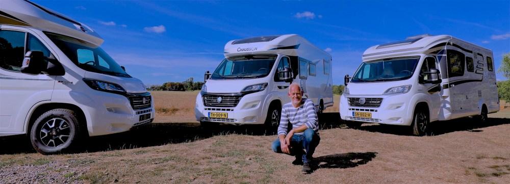 Johan Boonstra bij Campers Noord