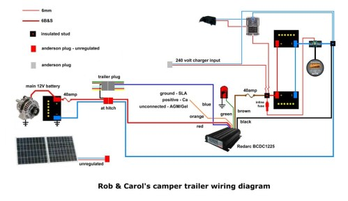 small resolution of redarc s wiring using a rk1260 relay my wiring diagram