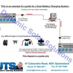 12 Volt Wiring Diagram For Trailer Lights Jamies Camper Diagrams Dual Battery Charging System