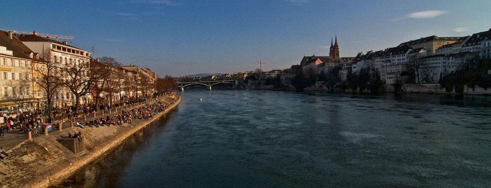 Basilea: passeggiando sul Reno