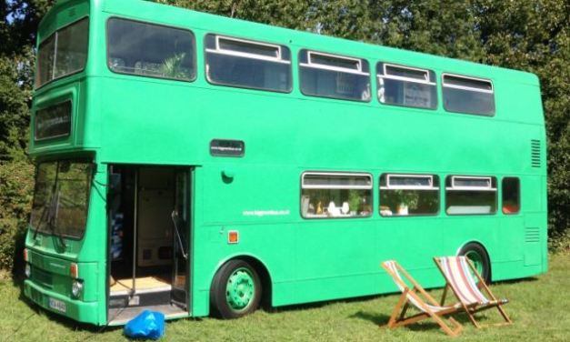 The big green bus