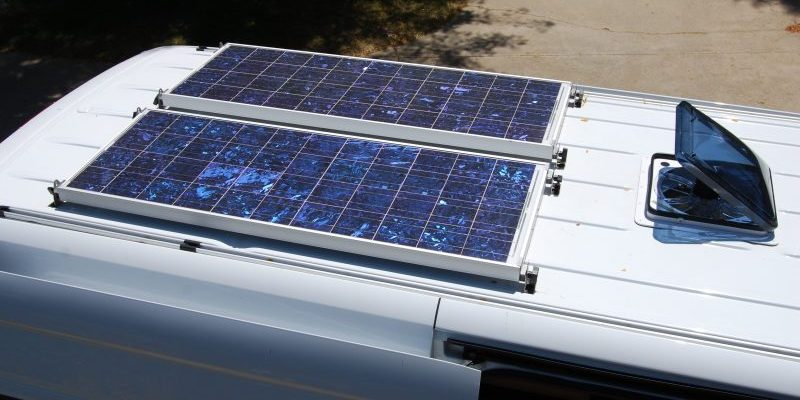 Solar power for motorhomes - an introduction - Campervan and