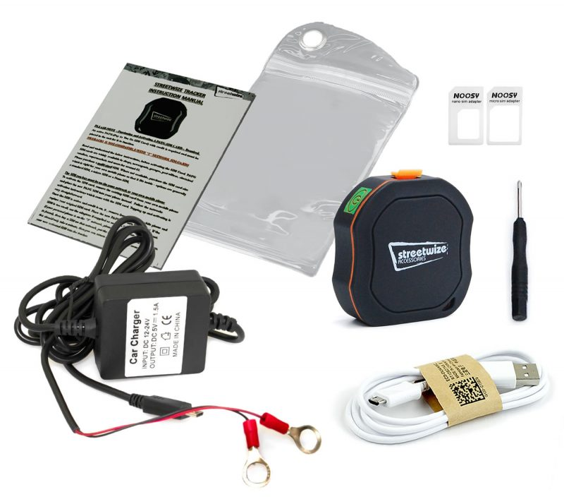Streetwise vehicle tracker for your motorhome, whats in the box?