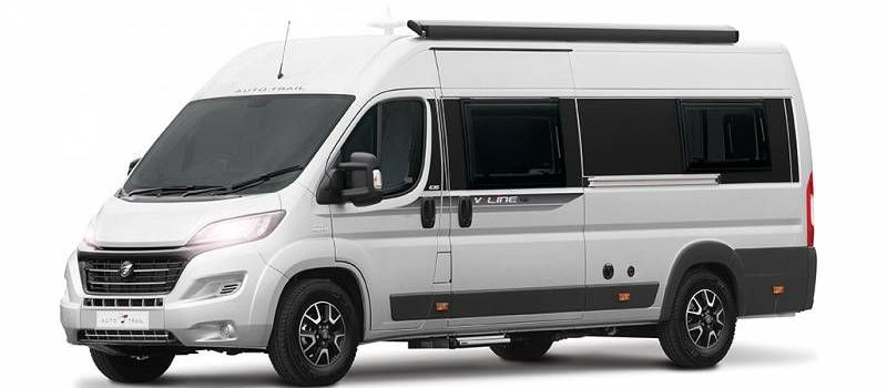 long wheelbase camper vans and short wheelbase motorhomes are both available