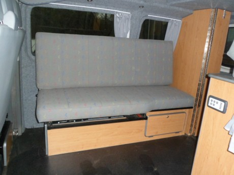 The Monarch Campervan Side Seatbed order online from