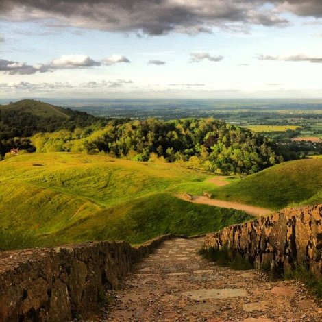British Camp in the Malvern Hills