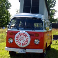 Hippie Van Camping photos
