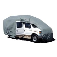 Budge Premier Class B RV Cover Fits Class B RVs up to 19.5 ft Long, RVRP-20 - (Gray, Polyester)