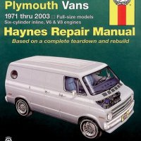 Haynes Dodge & Plymouth Vans 1971-2003 (Haynes Repair Manuals)
