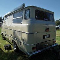 "1963 Chevrolet Impala ""Bedrolet"" camper van"
