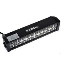 "KAWELL 13.5"" 72W LED Light Bar 5040lm Combo Beams 24pcs 3W Waterproof for Jeep off road Van Camper Wagon ATV AWD SUV 4WD 4x4 Pickup Van Off-road"