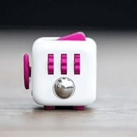 Fidget Cube for Fidgeters! Relieve Stress, Anxiety, and Boredom for Children and Adults (Rose)