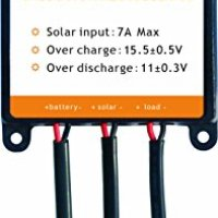 Sunway Solar Charge Controller Regulator 7A for 12V Solar Panel Car Boat RV Marine Motor Battery Charger Kit Solar Power System Safe Protection