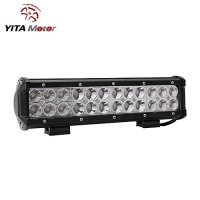 YITAMOTOR Led Light Bar ,12INCH 72W LED Light Bar Spot Flood ComboCREE Driving Light Waterproof for Jeep off road Van Camper Wagon ATV AWD SUV 4WD 4x4 Pickup Van Off-road