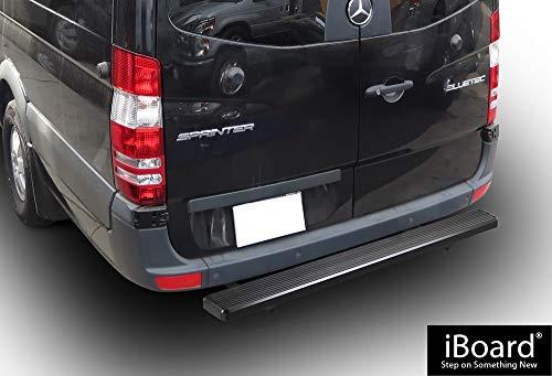 "iBoard Running Board Black 6/"" Fit Dodge Mercedes-Benz Sprinter 10-19"