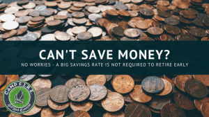Can't Save Money
