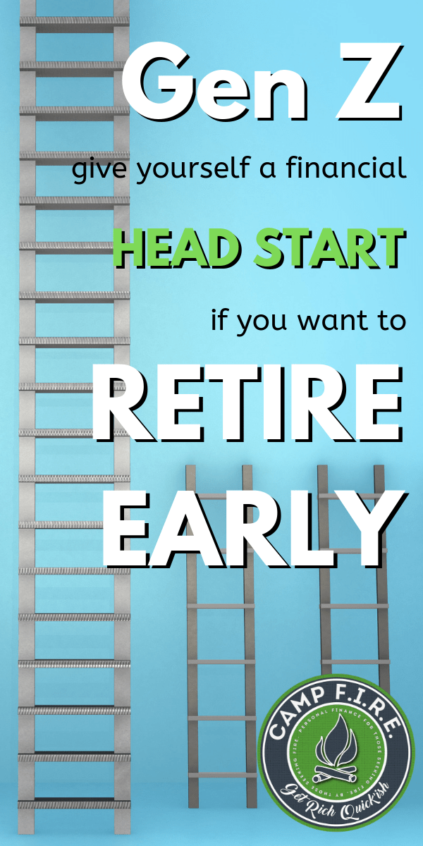 For #GenZ #FinancialIndependence and #EarlyRetirement are realistic #goal. Learn how to give yourself an unfair #money advantage and a head start. #FIREMovement
