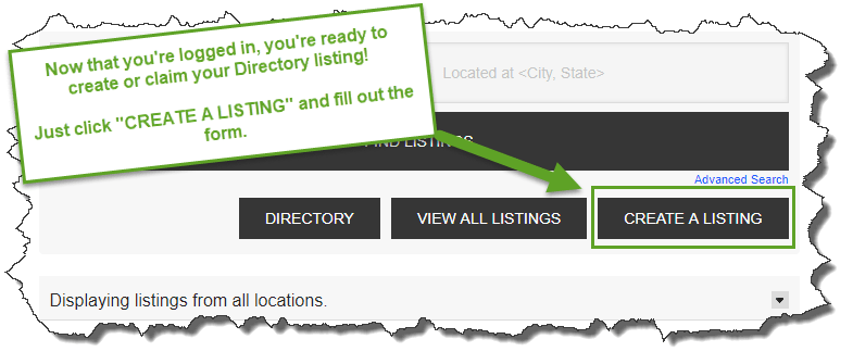 Step 5: Create your listing!