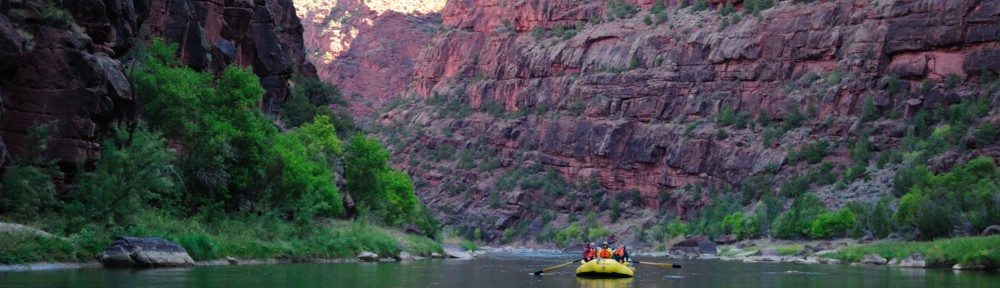 Green River Rafting - Gates of Lodore
