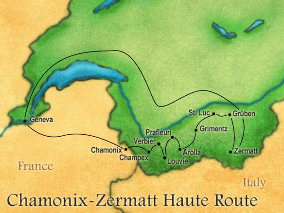 Switzerland Haute Route