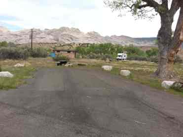 Green River Campground Back in
