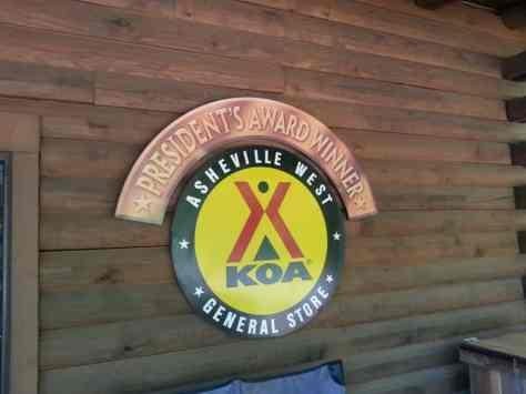 Asheville West KOA in Candler North Carolina02