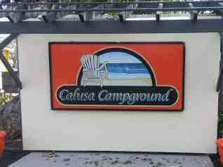 Calusa Campground in Key Largo Florida