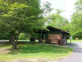 Deep Creek Campground in Great Smoky Mountains National Park near Bryson City North Carolina1