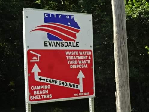 Deerwood sign on road