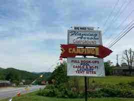 Flaming Arrow Campground in Whittier North Carolina1