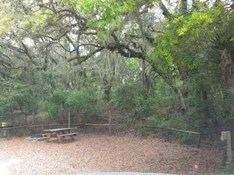 Fort Clinch State Park Amelia River Campground in Fernandina Beach Florida 2