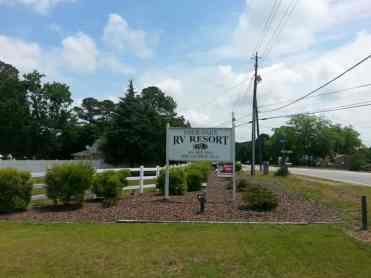 Four Oaks RV Resort in Four Oaks North Carolina4