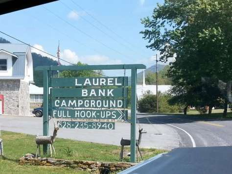 Laurel Bank Campground in Canton North Carolina2