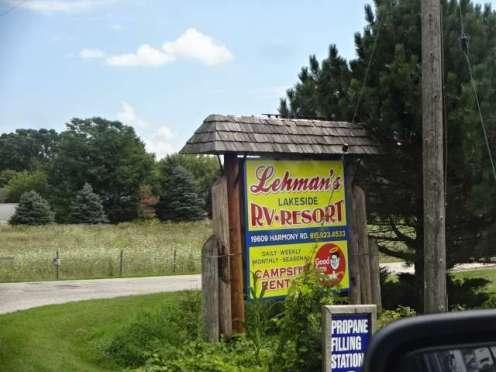Lehman's CG sign