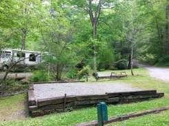 Moonshine Creek Campground in Sylva North Carolina05