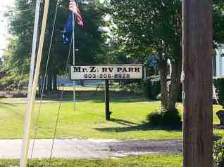 Mr. Z's RV Park in Gilbert South Carolina