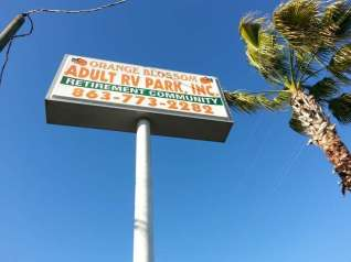 Orange Blossom RV Park in Bowling Green Florida
