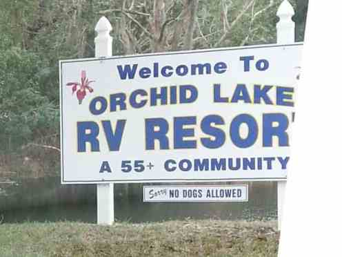 Orchid Lake Rv Resort in New Port Richey Florida1