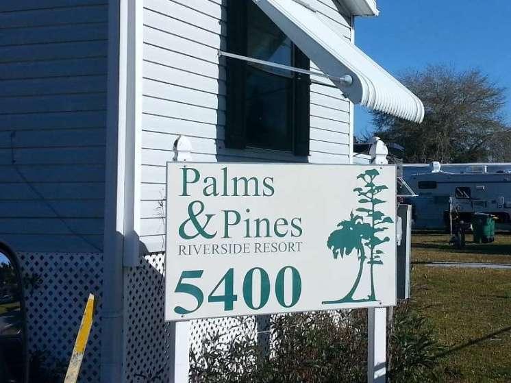 Palms & Pines Riverside Resort in Punta Gorda Florida