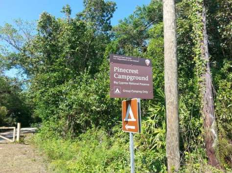 Pinecrest Campground in Big Cypress National Preserve2