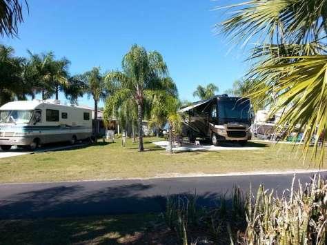 Raintree RV Resort in North Fort Myers Florida1