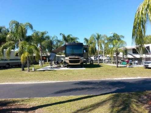 Raintree RV Resort in North Fort Myers Florida2